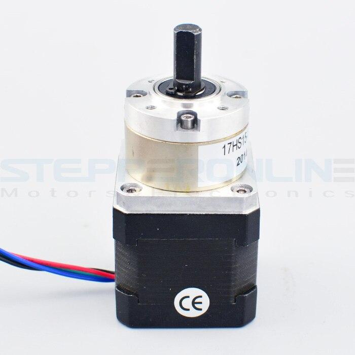 5:1 Planetary Gearbox Nema 17 Stepper Motor 1.68A for DIY CNC Robot 3D Printer<br>