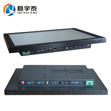 All in one PC 18.5 inch touch screen computer with cpu Intel D525 1.8GHz+GT218 industrial computer Resolution 1366x768(China)