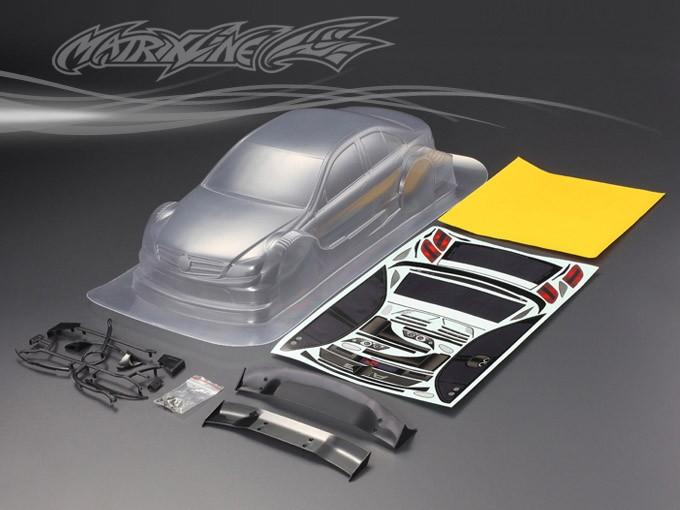 NO:201217 unpainted shell body 1/10 PC clear body shell 1:10 rc racing car/Drift car 195mm  1pc<br>