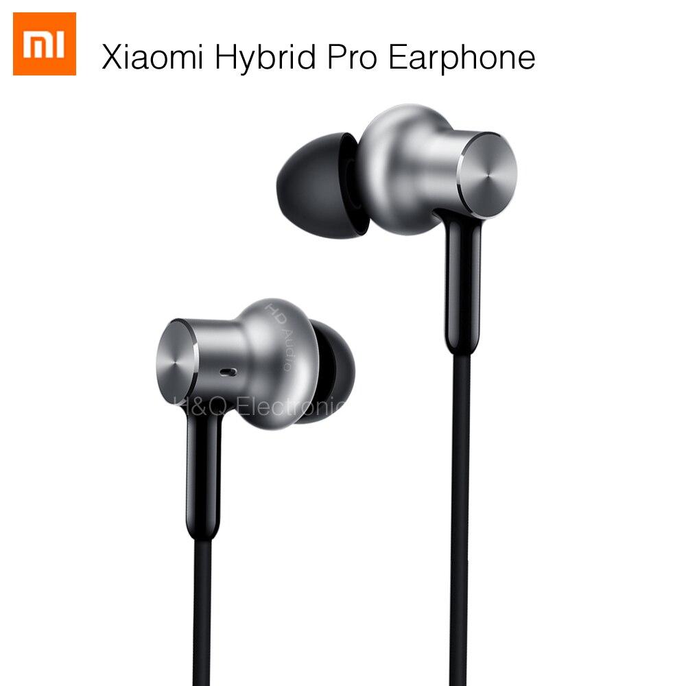 Newest Original Xiaomi Hybrid Pro HD Earphone Dual/Triple Driver Dynamic + Balanced Armature Mi In-Ear Line Control Mic<br>