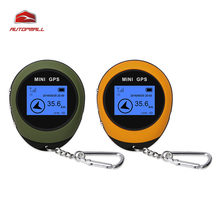 2017 New Arrival Mini GPS Navigation PG03 Mini GPS Real Time Handheld Keychain USB Charging Compass For Outdoor Sport Travel