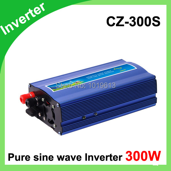 300W 300 Watt Sine Wave Power Inverter DC 12V to AC 220-240V Converter<br>