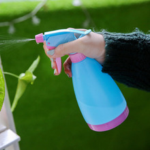 Candy color Portable Manually Garden Plants Water Sprayers Flower Irrigation Spray Bottle Pouring kettle Watering can 21*8cm