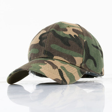 Camouflage Baseball Cap Fishing Sun Hat Couple Models Female Male Sport Hip Hop Adjustable Snapback Hat Caps(China)