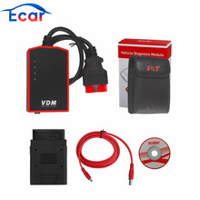 VDM UCANDAS V3.84 WIFI Full System Automotive Diagnostic Tool Update Online with for Honda Adapter