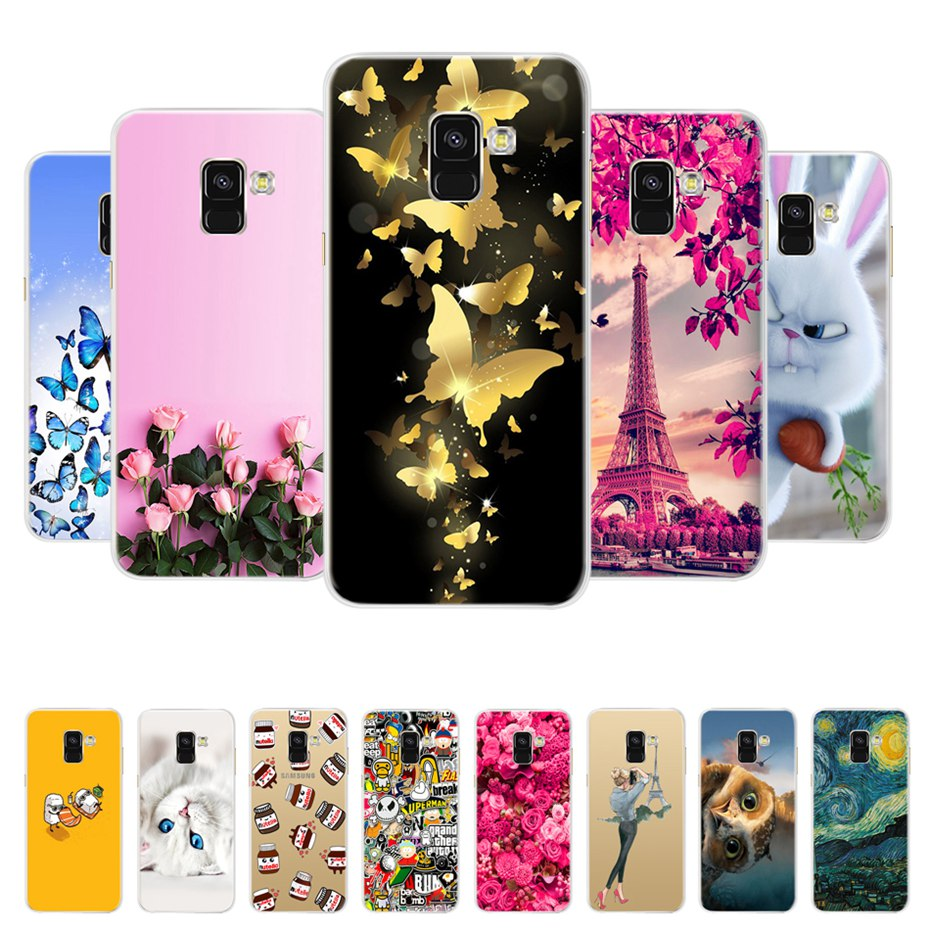 For Samsung Galaxy A8 2018 Case Samsung A8 Plus A730F Silicone Soft TPU Phone Back Cover Case For Galaxy A8 A 8 2018 A530 Hoesje(China)