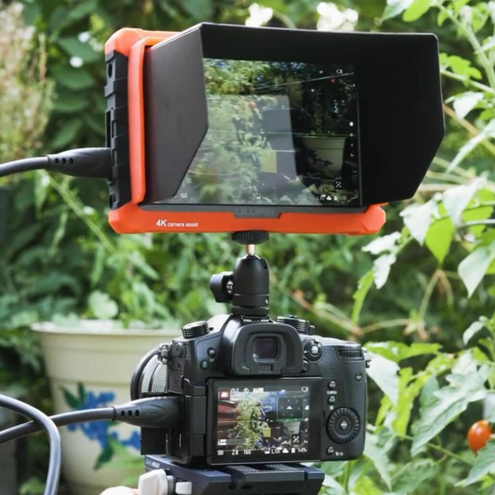 like Atomos Lilliput A7S 7 Inch 4k IPS Full HD 1920x1200 4K HDMI On-camera Video Field Monitor for Canon Nikon Sony DSLR Camera 6