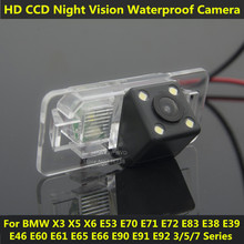 For BMW 5 Series E39 528 530 533 535 540 545 550 E53 X3 X5 X6 Car CCD Night Vision Backup Rear View Camera Parking Assistance