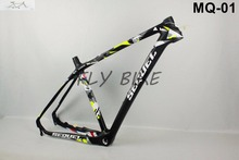 Bicycle Frame FLY BIKE 27.5er/29er size15/17/19 carbon MTB frame carbon bicycle BSA/BB30 free shipping,cube frame and fixie