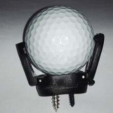 New Mini Rubber Golf Ball Pick Up Putter Grip Retriever Tool Suction Cup Pickup Screw Golf training Aids Black