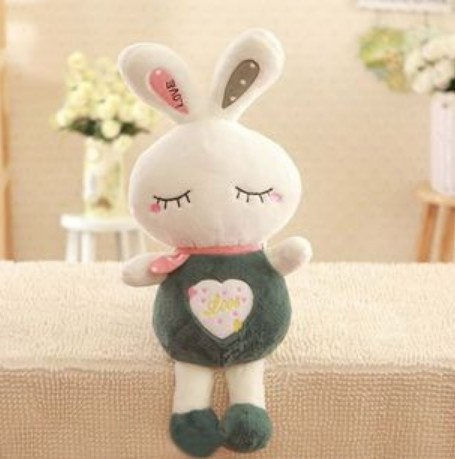 Free shipping rabbit plush doll Love rabbit Squinting rabbit soft stuffed toy 120cm big size<br><br>Aliexpress