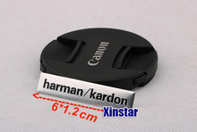 10pcs Aluminum harman/kardon car speaker sticker for audi sline BMW Benz Amg Toyota Cruze Subaru Ford skoda Volkswagen Opel(China)