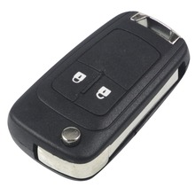 jingyuqin For Vauxhall Opel Insignia Astra J 2 Button Keyless Flip Folding Fob Key Shell Case Remote New(China)
