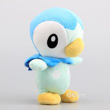 Anime Pikachu Piplup Soft Plush Toys Kids Collection Stuffed Toys Children Present 19 cm