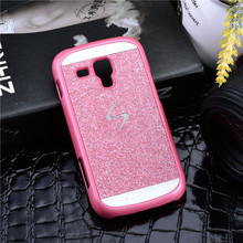 Hot Phone Case PC Hard For Samsung Galaxy S Duos S7562 Trend Plus S7580 S Duos 2 Bling Luxury Phone Case Back Cover