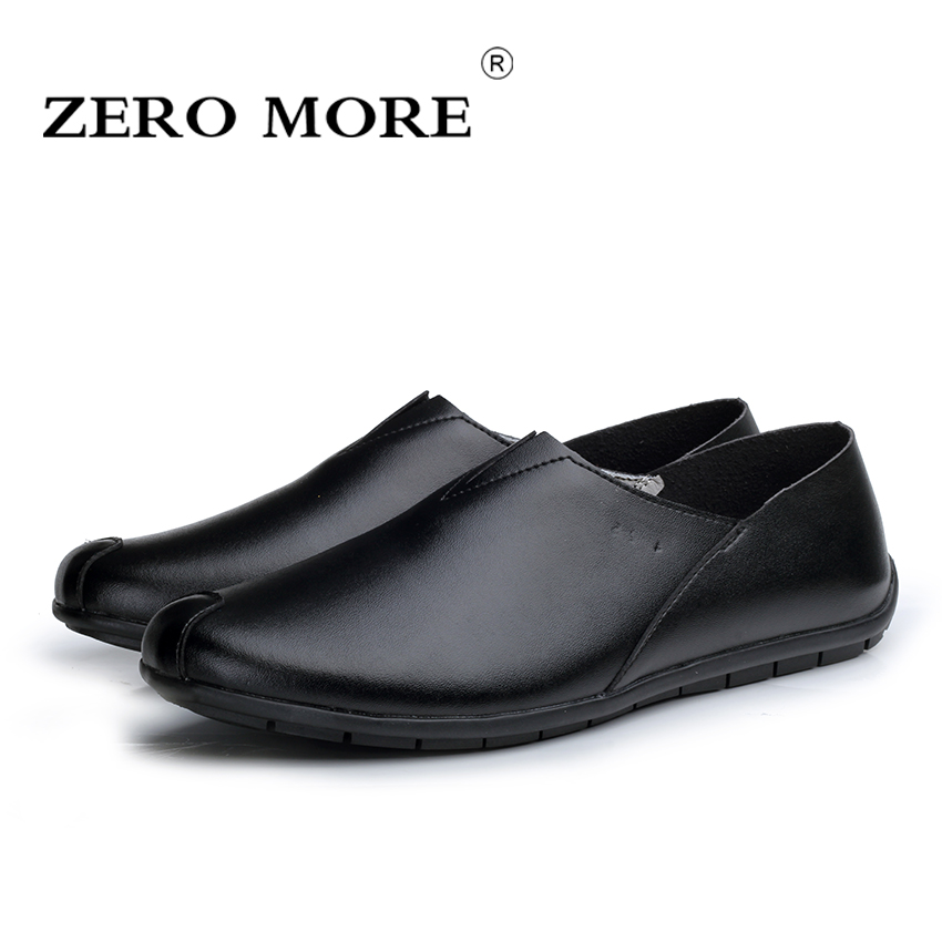 ZERO MORE Men Loafers 2017 Casual Boat Shoes Genuine Leather Slip On Driving Shoes Moccasins Hollow Out Men Flats Gommino<br>