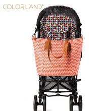 Colorland Fashion Baby Stroller Bag Mother Maternity Bag Large Diaper Bag Organizer Diapers Mummy Handbag Nappy Bags for pram