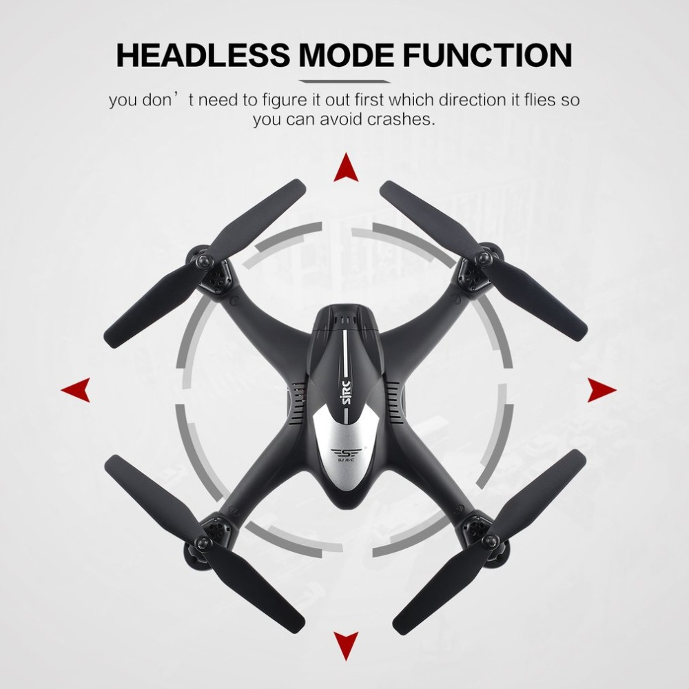 SJ R/C S30W 2.4G Dual GPS Positioning FPV RC Quadcopter Drone with 7P Adjustable Wide Angle Wifi Camera Follow Me Hovering 10