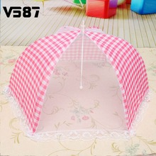 Collapsible Food Umbrella Cover Pop Up Dome Mesh Fly Wasp Insect Net Household Outdoor BBQ Practical Tools Accessories