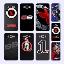 jorge lorenzo lorenzo 99 Logo red X pattern hard White Case cover for Samsung Galaxy J510 J710 J5 J7 J3 2016 J1 J2 Prime J7