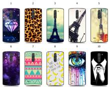 Hot sale hybrid fashion design white plastic cover case for LG G3 Stylus D690 Free Shipping