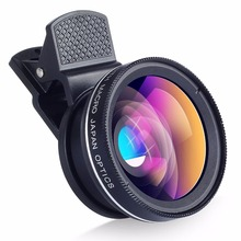 Buy HD 37mm Mobile Phone Lens Kit 0.45X Super Wide Angle + 12.5X Macro Lens iPhone Samsung HTC LG SmartPhone Camera Lens for $7.07 in AliExpress store