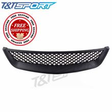 RYANSTAR RACING Racing Front hood Abs Grills Grille For 2001-2003 Honda(China)