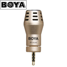 Original BOYA BY-A100 Professional Microphone for Phone Mini Wireless Microphone for iPhone iPad iPod Touch Android Smartphone(China)