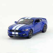 2015 Mustang streaks1/38 alloy models model car Sports car Diecast Metal Pull Back Car Toy For Gift Collection(China)
