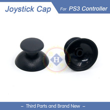HOTHINK New Replacement 2pcs/lot black 3D joystick analog Thumb stick cap for PS3 controller Dualshock 3(China)