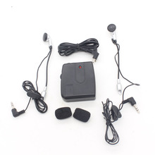 Dongzhen Compact Motorcycle Wired Talkie Portable Headset Intercom Motorcycle Headphone Interphone for Driver Rider(China)