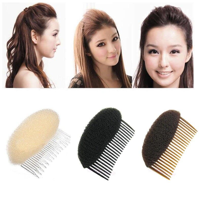 Hair Styler Volume Bouffant Beehive Shaper Bumpits Bump Foam Comb Worth it JAUK