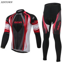 Buy XINTOWN Long Sleeve Cycling Jersey Men Bicycle Clothing Winter Cycling Bike Team Cycling Clothing CC0354 for $36.95 in AliExpress store