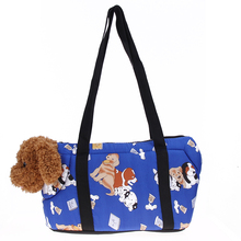 Outdoor Pet Dog Bags Portable Pet Carriers bag Canvas Handbags S/L Size Shoulder Bag Easy Carry Pet Bag Gifts Drop shipping