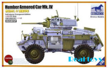 Bronco model CB35081SP 1/35 Humber Armored Car Mk.IV plastic model kit