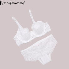 New Arrival Sexy Comfortable Lace Bra Briefs Set Luxury Transparent Ultra Thin Woman Bra Set Sexy Gauze Woman Underwear Set