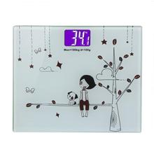 High quality Simple Style LCD Display Weighing Scale Support Weight Loss Measuring Tool Bathroom Scales Home Family Healthy Care