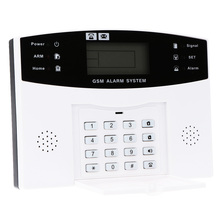 433Mhz Wireless GSM SMS House Security Burglar Intruder System Detector Sensor Kit Remote Control By APP/SMS Alarm System(China)
