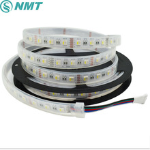 5m 5050 Led Strip DC12V 4in1 RGBW RGBWW 2in1 CCT Led Light Tape IP20 IP65 IP67 Waterproof 60led/m home decoration
