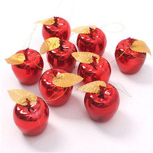 12Pcs Glitter Christmas Balls Baubles Xmas Tree Ornament Christmas Decoration Tree Home Decor For Party Supplies wholesale