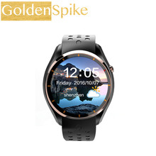 Goldenspike NEW I3 Android 5.1 Smart Watch for Android Phone sync SMS MTK6580 Google maps Heart Rate Monitor WIFI GPS WristWatch