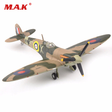 Toys for Boys Girls 1/72 Alloy Diecast Airplane UK 1941 Supermarine Spitfire Mk Vb Attack Plane Fighter Model Cheap Toys for kid(China)
