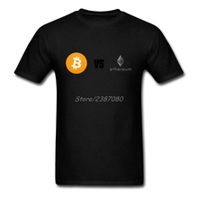 Buy Pp Bitcoin VS Ethereum T Shirt Funny Brand Clothing O-neck Cotton XXXL Short Sleeve Custom T Shirts Fitness Men for $12.76 in AliExpress store