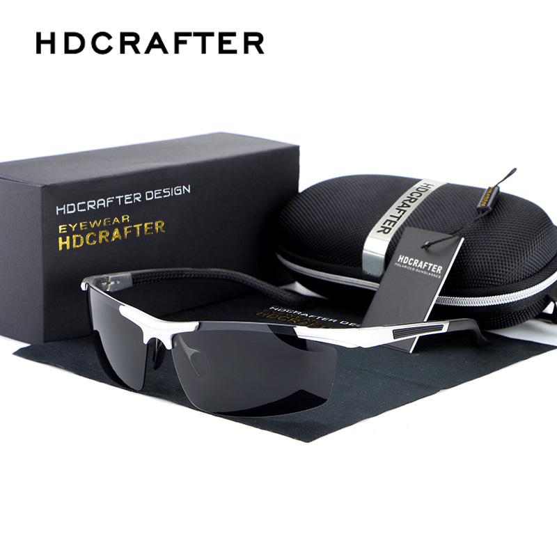 HDCRAFTER Promotions New Fashion Sport sunglasses 100% Polarized Men Brand Driver Driving Sunglasses glasses gafas oculos de sol<br><br>Aliexpress