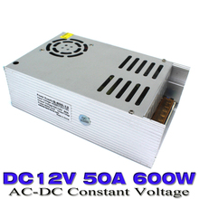 New Product 12v DC Power Supply 50A 600W Led Driver Transformer 110V 220V AC DC12v UPS For Strip Lamp CNC CCTV 3D Print