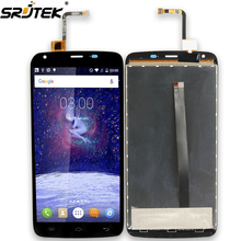 Srjtek For Doogee T6 LCD Display + Touch Screen Digitizer Assembly 1280x720 Replacement Parts For Doogee T 6 Black