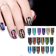 Colorful Nail Art Powder Pigment Fingernail Mirror Painting Pigment Varnish UV Gel Nails Manicure Polish Builder Decoration(China)
