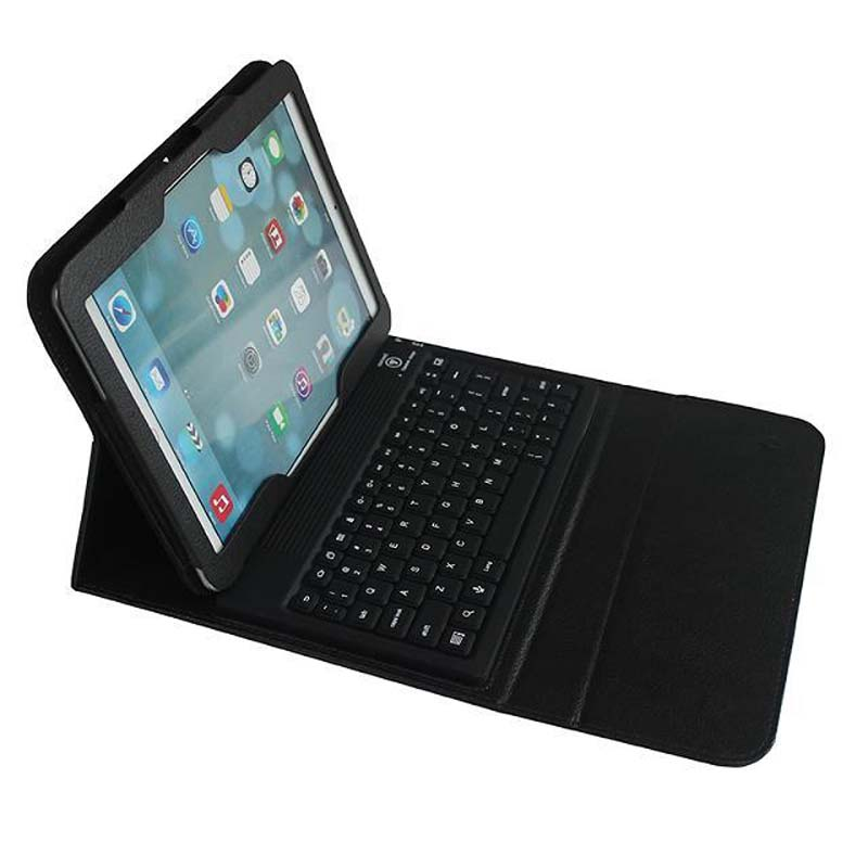 New Waterproof Soft Siliocn Wireless Bluetooth Keyboard Stand PU Leather Cover Case For Samsung Galaxy Tab 4 10.1 T530 T531 T535<br>