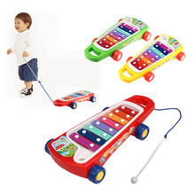 Best Sale Baby Kid Skateboard 8-Note Toy Musical Instrument Toys Wisdom Development percussion musical toys Vee_Mall(China)