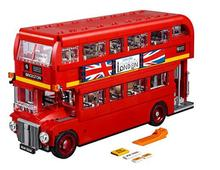 New Arrival 21045 United Kingdom Britain London Double-Decker Bus Building Kit Blocks Bricks Toy For Gift 10258(China)